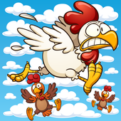 Flying Chickens icon