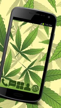 Weed Ganja GO Launcher Theme poster