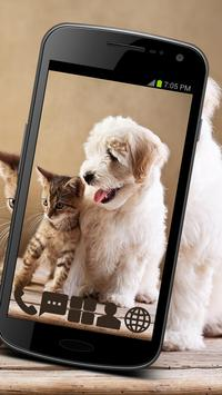Home Animals for GO Launcher poster