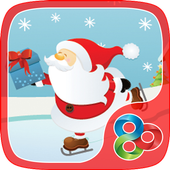 Happy Santa GO Launcher Theme icon