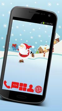Happy Santa GO Launcher Theme poster