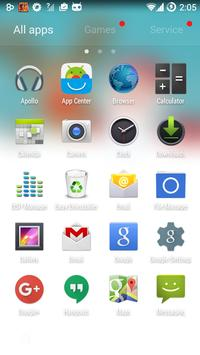 Happy Santa GO Launcher Theme screenshot 2