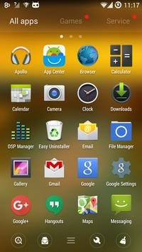 Sea Sunset GO Launcher Theme apk screenshot