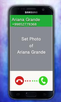 Ariana grande is calling you poster