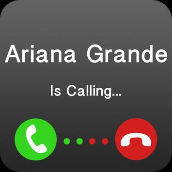 Ariana grande is calling you apk screenshot