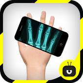 X-ray Scanner Hand Simulated icon