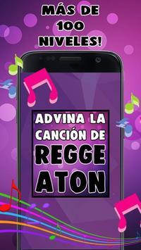 Adivina La Canción De Reggaeton poster