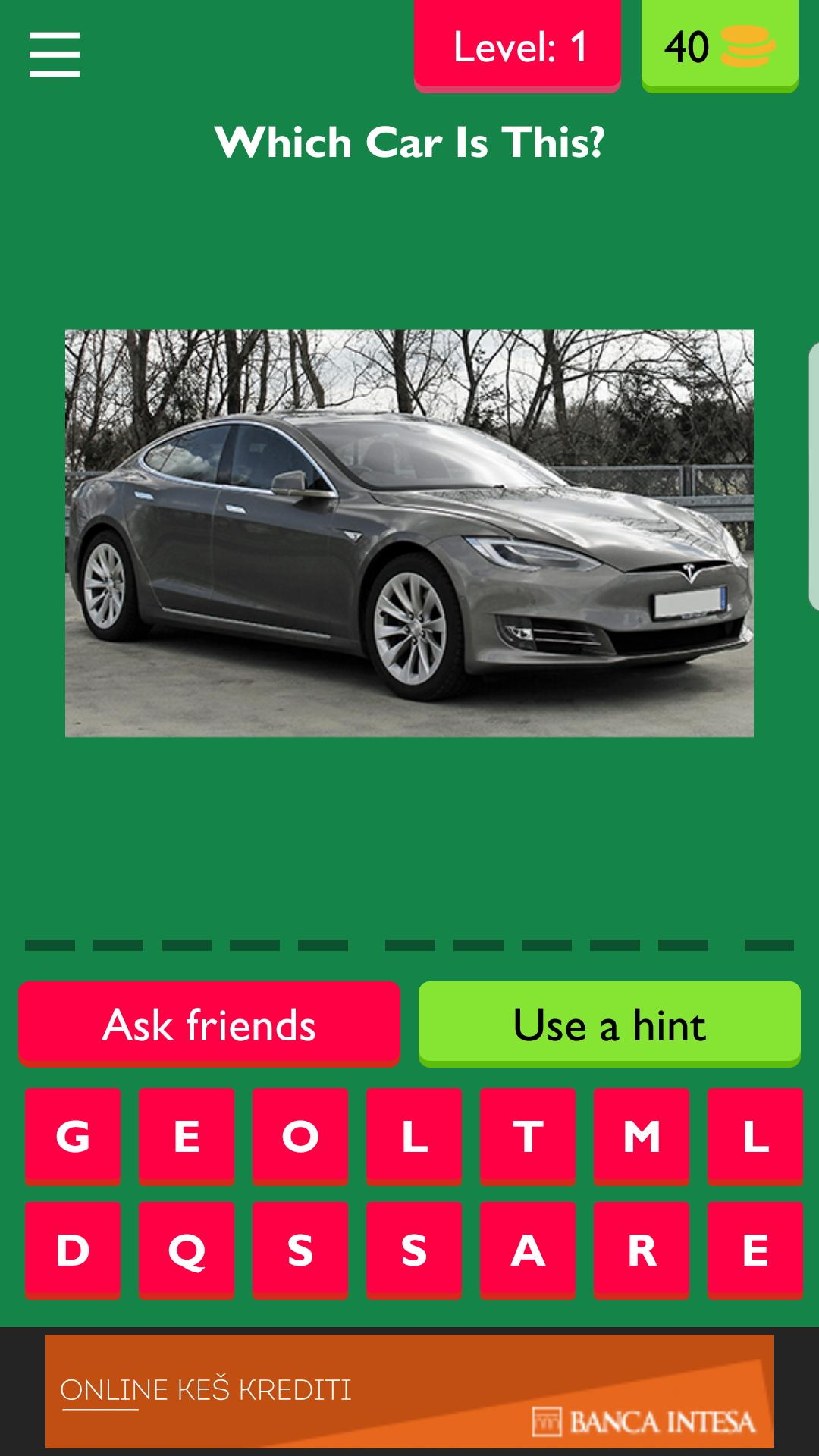 Car Model Quiz Game - Guess The Car Trivia for Android - APK