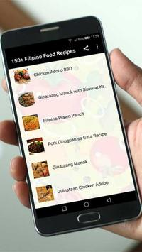 150+ Filipino Food Recipes screenshot 1