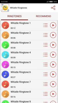 Whistle Ringtones screenshot 1