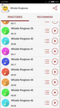Whistle Ringtones screenshot 2