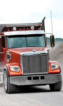 Wallpapers Truck Freightliner poster