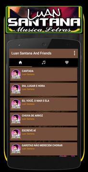 Musica Luan Santana Letras Mp3 screenshot 1