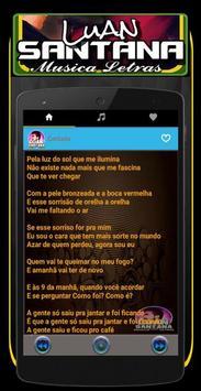 Musica Luan Santana Letras Mp3 screenshot 2