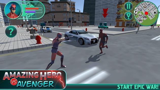 Amazing Hero vs Avenger poster