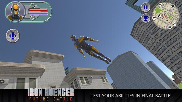 Iron Avenger: Future Battle apk screenshot