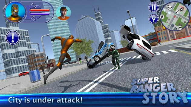 Super Ranger Story poster