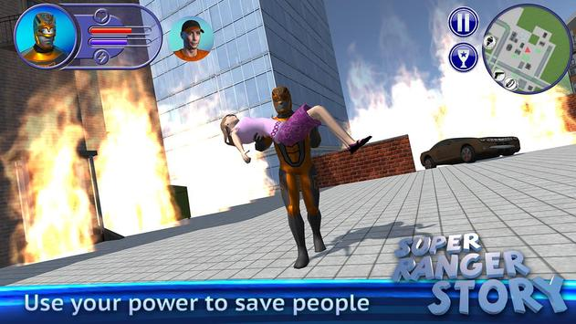 Super Ranger Story apk screenshot
