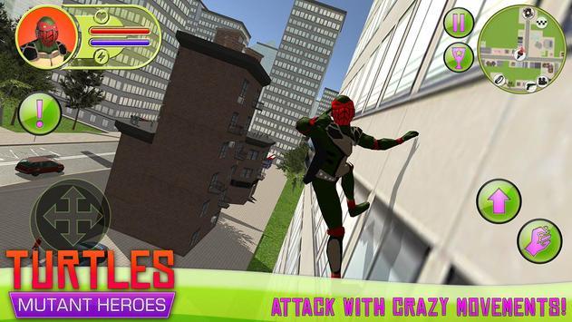 Turtles: Mutant Heroes poster