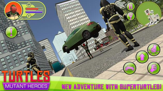 Turtles: Mutant Heroes apk screenshot