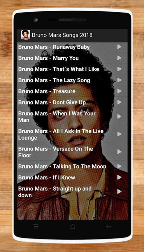 Bruno Mars Songs 2018 for Android - APK Download