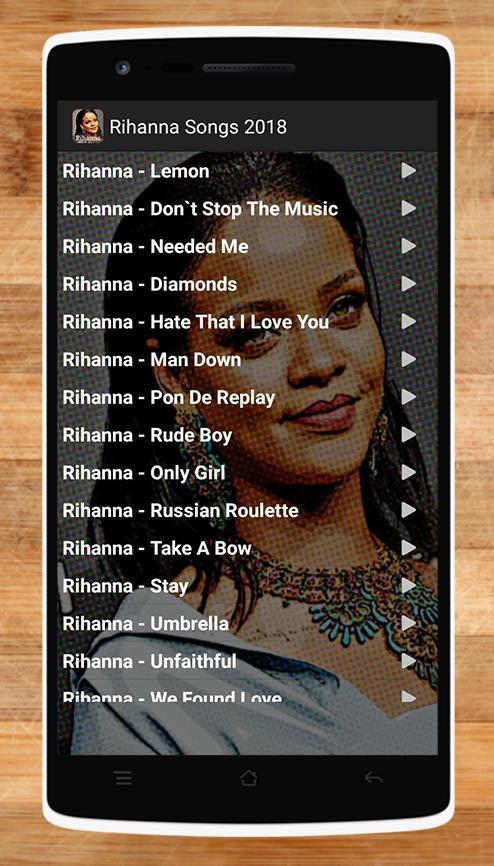 Brilliant Rihanna Songs 2018 For Android Apk Download Birthday Cards Printable Inklcafe Filternl