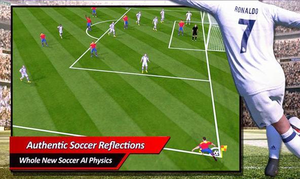 Real Football Game 2018 screenshot 1