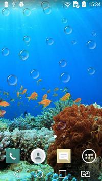 Underwater world live wp poster