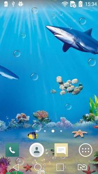 Underwater world live wp apk screenshot