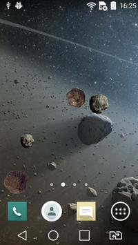 Asteroids Live Wallpaper poster