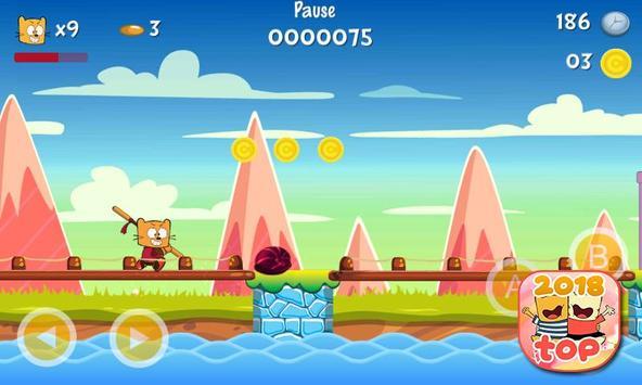 Ollie The Teeny Cat Ninja screenshot 3