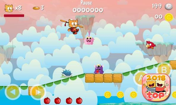 Ollie The Teeny Cat Ninja screenshot 13