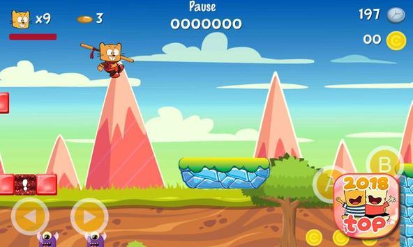 Ollie The Teeny Cat Ninja screenshot 2