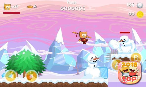 Ollie The Teeny Cat Ninja screenshot 7