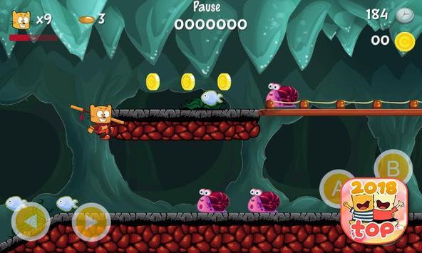 Ollie The Teeny Cat Ninja screenshot 4