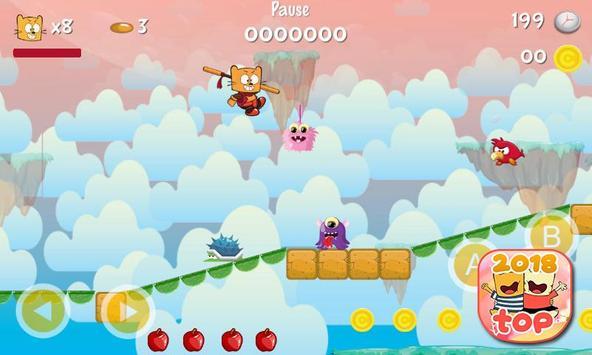 Ollie The Teeny Cat Ninja screenshot 5