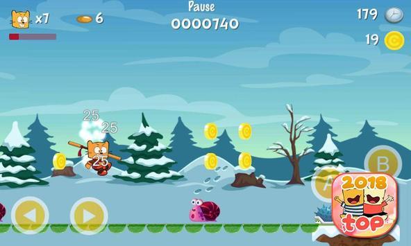 Ollie The Teeny Cat Ninja screenshot 6