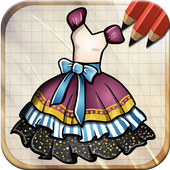 Draw Dresses and Gowns icon