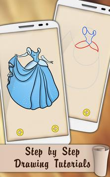 Draw Dresses and Gowns screenshot 4