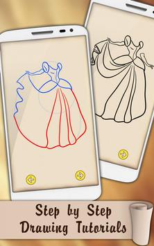 Draw Dresses and Gowns screenshot 5