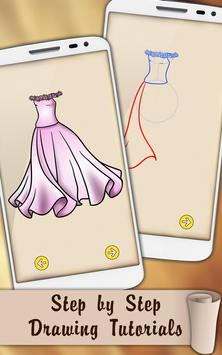 Draw Dresses and Gowns poster