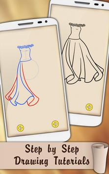 Draw Dresses and Gowns screenshot 1