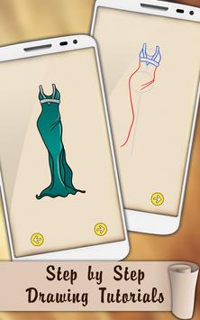 Draw Dresses and Gowns screenshot 2