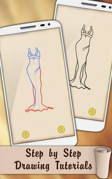 Draw Dresses and Gowns screenshot 3