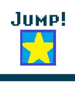 Super Mr.jump squard poster