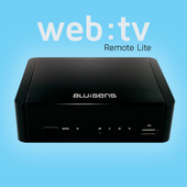 Web:tv Remote Lite icon
