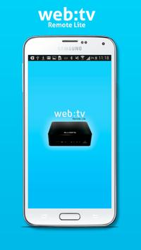 Web:tv Remote Lite screenshot 2