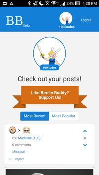 Bernie Buddy apk screenshot