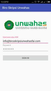 Biro Skripsi FAI Unwahas apk screenshot