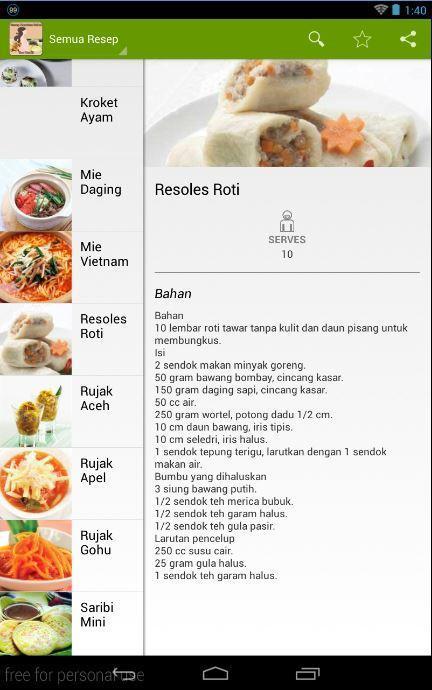 Resep Masakan Sehat Ibu Hamil For Android Apk Download